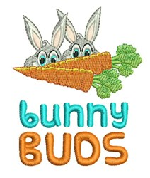 Bunny Buds embroidery design