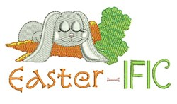 Easter-ific embroidery design
