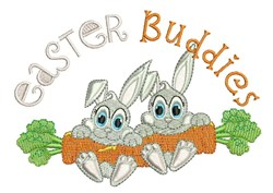Easter Buddies embroidery design