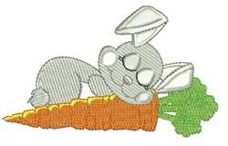 Sleep Rabbit embroidery design