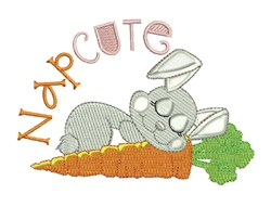 Nap Cute embroidery design