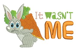 It Wasnt Me embroidery design