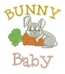Bunny Baby embroidery design