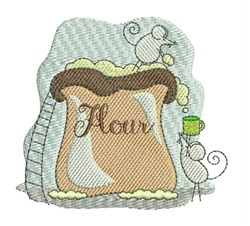 Flour Mice embroidery design