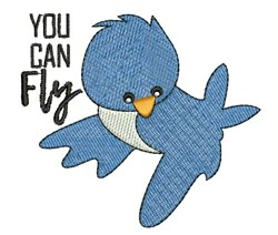 You Can Fly embroidery design
