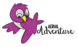 Aerial Adventure embroidery design