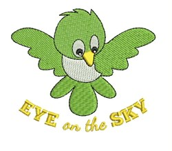Eye On Sky embroidery design