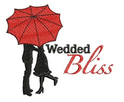 Wedded Bliss embroidery design