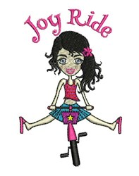 Joy Ride embroidery design