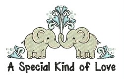 Special Love embroidery design