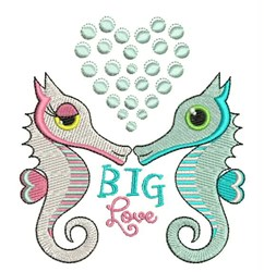 Big Love embroidery design