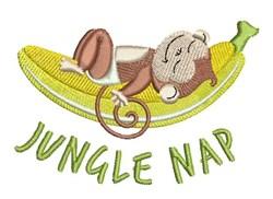 Jungle Nap embroidery design