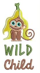 Wild Child embroidery design