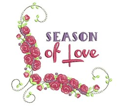 Season Of Love embroidery design