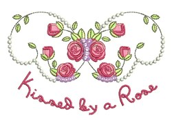 Kissed By A Rose embroidery design