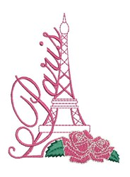 Paris embroidery design