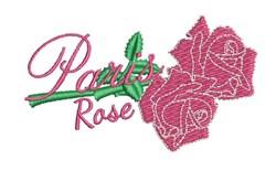 Paris Rose embroidery design