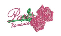 Paris Romance embroidery design