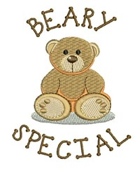 Beary Special embroidery design