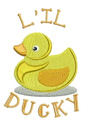 Lil Ducky embroidery design