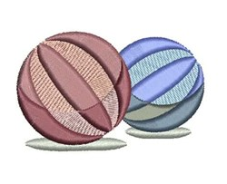 Beach Balls embroidery design