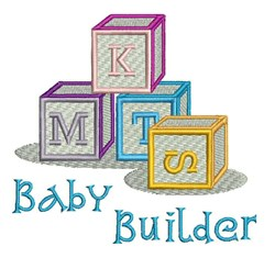 Baby Builder embroidery design