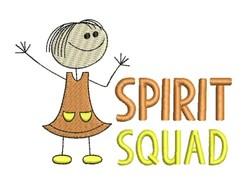 Spirit Squad embroidery design