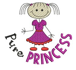 Pure Princess embroidery design