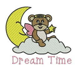Dream Time embroidery design
