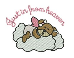 From Heaven embroidery design
