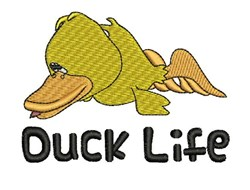 Duck Life embroidery design