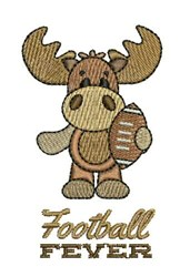 Football Fever embroidery design