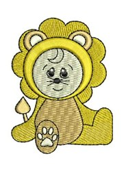 Lion Costume embroidery design