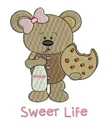 Sweet Life embroidery design