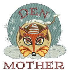 Den Mother embroidery design
