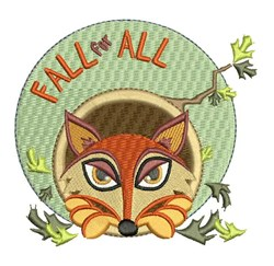 Fall For All embroidery design