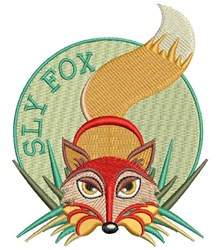 Sly Fox embroidery design