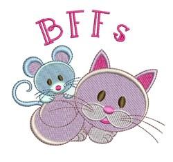 BFFs embroidery design