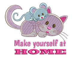 At Home embroidery design