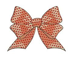 Polka Dot Bow embroidery design