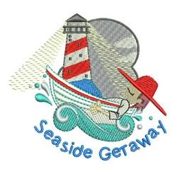 Seaside Getaway embroidery design