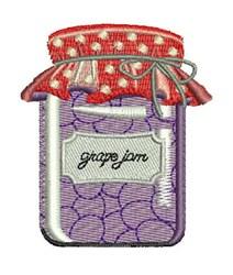 Grape Jam embroidery design