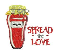 Spread The Love embroidery design