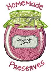 Homemade Preserves embroidery design