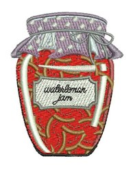 Watermelon Jam embroidery design