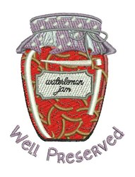 Well Preserved embroidery design