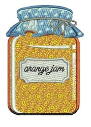Orange Jam embroidery design