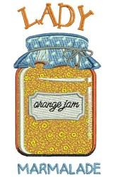 Lady Marmalade embroidery design