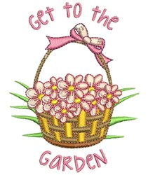 Get To Garden embroidery design