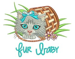 Fur Baby embroidery design
